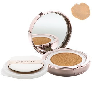 Chateau Labiotte, Classic Made Fitting Cushion, SPF50+, PA++++, Natural Beige with Refill, 2 - 15 g Each