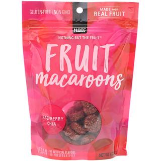 Nothing But The Fruit, Macarrones de fruta, frambuesa y chía, 4 oz (113 g)