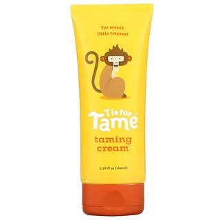 T is for Tame, 护理霜,3.38 液量盎司(100 毫升)