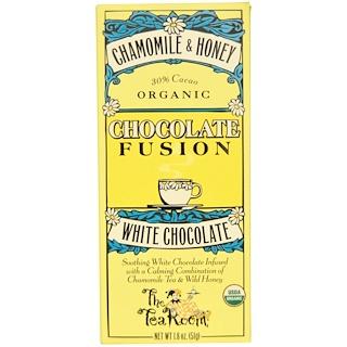 The Tea Room, Chocolate Fusion, White Chocolate, Chamomile & Honey, 1.8 oz (51 g)