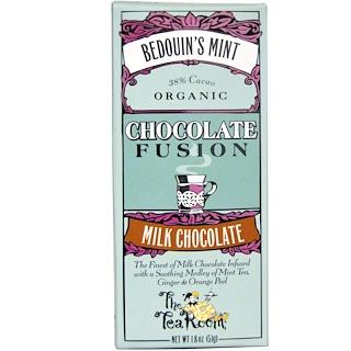 The Tea Room, Chocolate Fusion, Milk Chocolate, Bedouin's Mint, 1.8 oz (51 g)