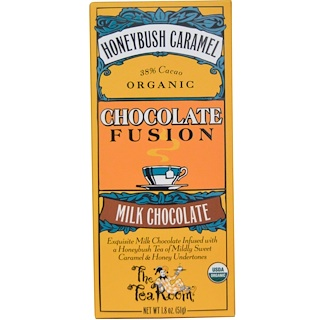 The Tea Room, Chocolate Fusion, Milk Chocolate, Honeybush Caramel, 1.8 oz (51 g)