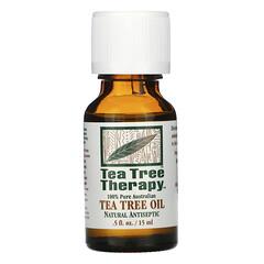 Tea Tree Therapy, 茶樹油,0.5 液量盎司(15 毫升)