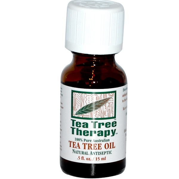 Tea Tree Therapy, 티 트리 오일, .5 fl oz (15 ml)