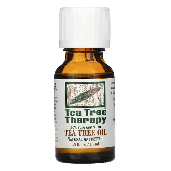 Tea Tree Therapy, Tea Tree Oil, .5 fl oz (15 ml)