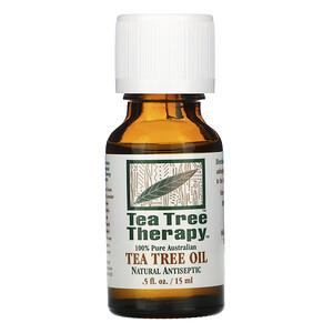 Ти Три Терапи, Tea Tree Oil, .5 fl oz (15 ml) отзывы покупателей