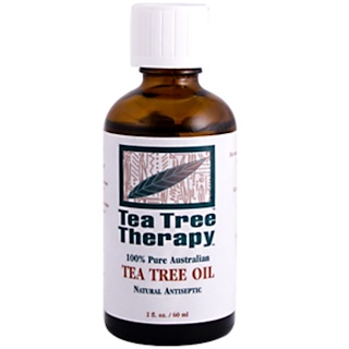 Tea Tree Therapy, Tea Tree Oil, 100% Pure Australian, 2 fl oz (60 ml)