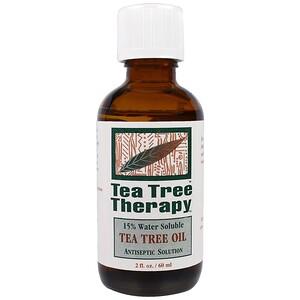 Ти Три Терапи, Tea Tree Oil, 2 fl oz (60 ml) отзывы покупателей