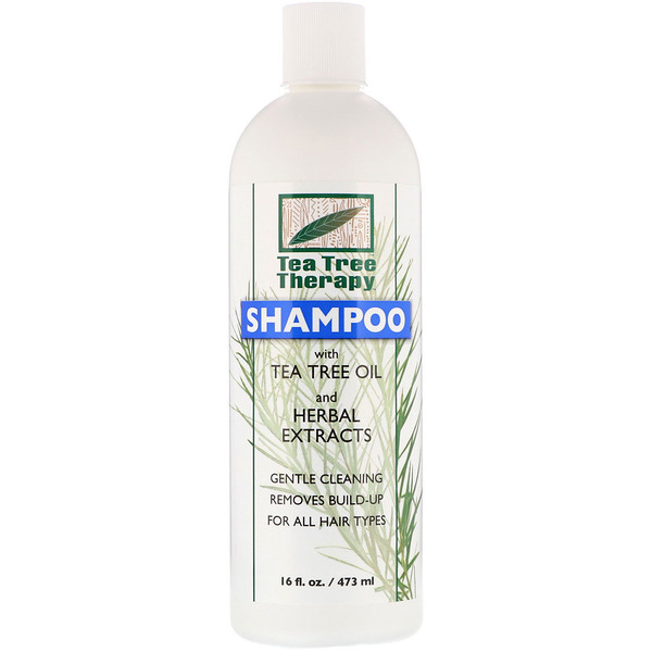Tea Tree Therapy, Shampoo, With Tea Tree Oil and Herbal Extracts, 16 fl oz (473 ml) (Discontinued Item)