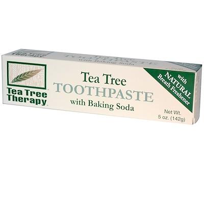 Зубная паста с экстрактом чайного дерева и пищевой содой, 142г цена