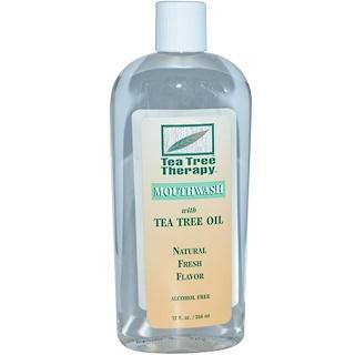 Tea Tree Therapy, Mouthwash, with Tea Tree Oil, 12 fl oz (354 ml)