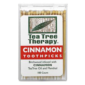 Ти Три Терапи, Cinnamon Toothpicks, 100 Count отзывы покупателей