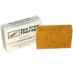 Tea Tree Therapy, Jabón de Eucalipto, 3,5 oz (99,2 g) cada barra