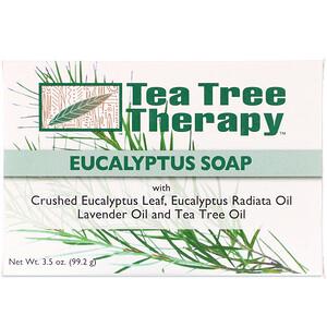 Ти Три Терапи, Eucalyptus Soap, 3.5 oz (99.2 g) отзывы покупателей