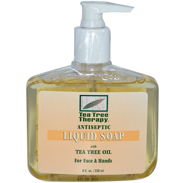 Tea Tree Therapy, Antiseptic, Liquid Soap, 8 fl oz (236 ml) (Discontinued Item)