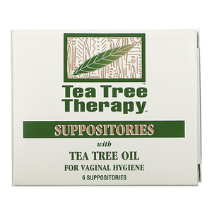 Ти Три Терапи, Suppositories with Tea Tree Oil for Vaginal Hygiene, 6 Suppositories отзывы покупателей