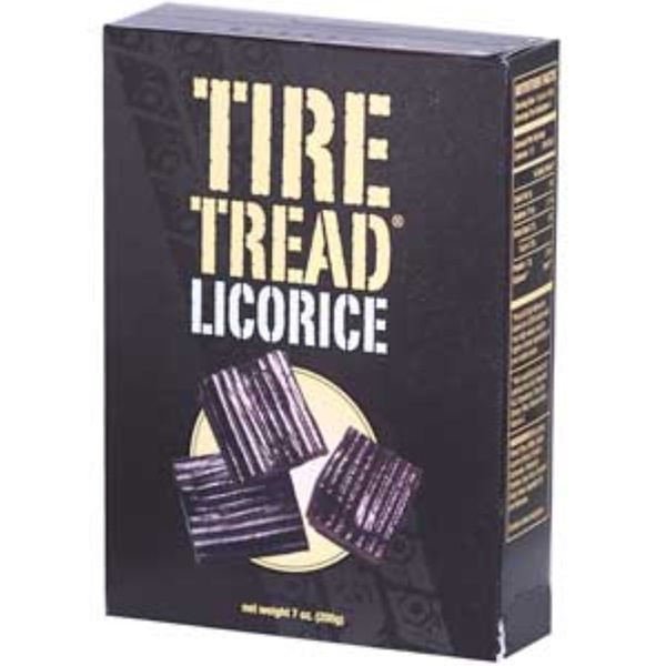 Tubi's, Tire Tread Licorice, 7 oz (200 g) (Discontinued Item)