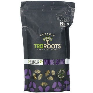 TruRoots, Organic, Sprouted Mung Beans, 10 oz (283 g)