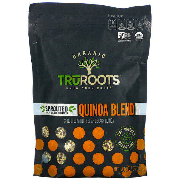 TruRoots, Organic, Sprouted Quinoa Blend,  8 oz (227 g)
