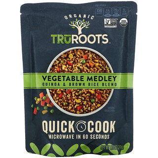 TruRoots, Organic, Quinoa & Brown Rice Blend, Vegetable Medley, 8.5 oz (241 g)