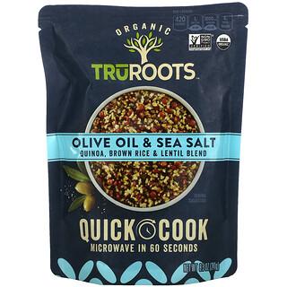 TruRoots, Organic, Quinoa, Brown Rice & Lentil Blend, Olive Oil & Sea Salt, 8.5 oz (241 g)