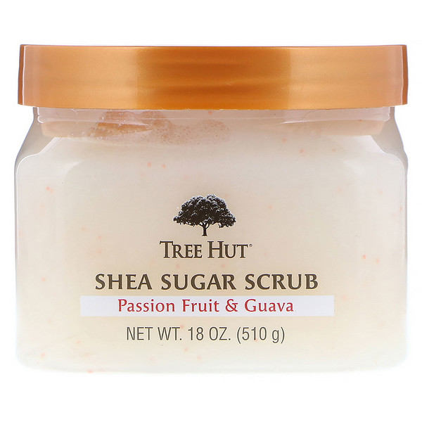 Tree Hut, Shea Sugar Scrub, Passion Fruit & Guava, 18 oz (510 g)