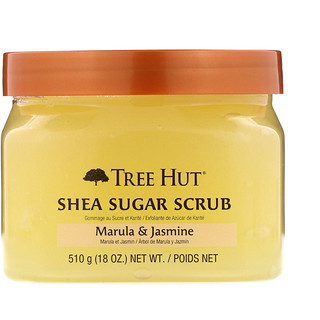 Tree Hut, Shea Sugar Scrub, Marula & Jasmine, 18 oz (510 g)