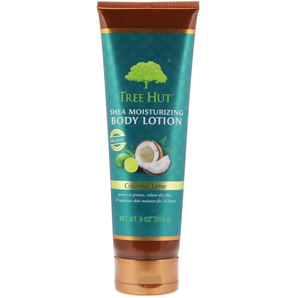 Tree Hut, Shea Moisturizing Body Lotion, Coconut Lime, 9 oz (255 g)