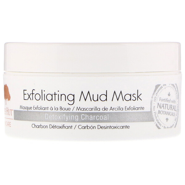 Skincare, Exfoliating Mud Mask, Detoxifying Charcoal, 2.9 oz (82 g)