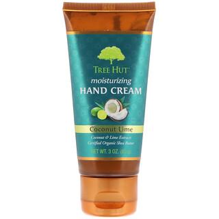 Tree Hut, Moisturizing Hand Cream, Coconut Lime, 3 oz (85 g)