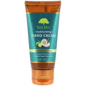 Tree Hut, Moisturizing Hand Cream, Coconut Lime, 3 oz (85 g) отзывы покупателей