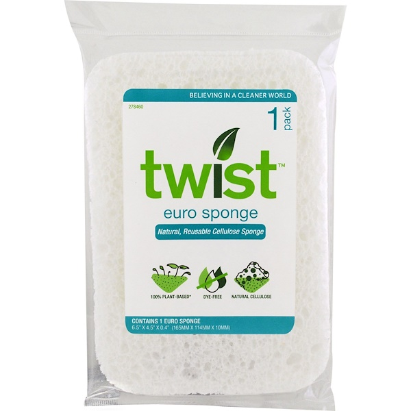 Twist, Euro Sponge , 1 Pack