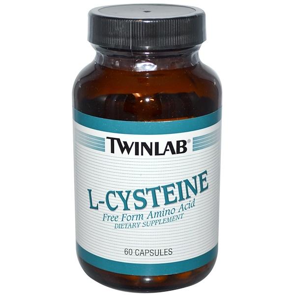Twinlab, L-半胱氨酸膠囊,60粒