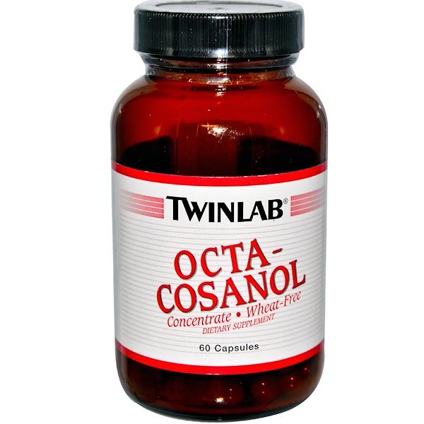 Twinlab, Octacosanol, 60 Capsules (Discontinued Item)