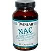 Twinlab, NAC, (N-Acetyl-Cysteine), 60 Capsules