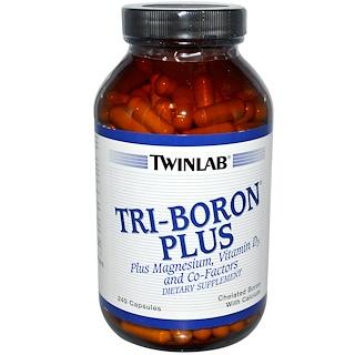 Twinlab, トリ-ボロン・プラス, 240 カプセル