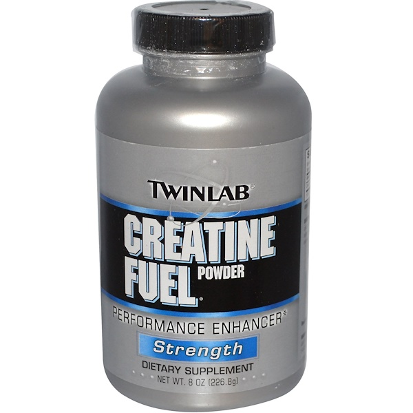 Twinlab, Creatine Fuel Powder, Performance Enhancer, Strength, 8 oz (226.8 g) (Discontinued Item)