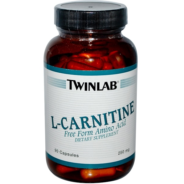 Twinlab, L-Carnitine, 250 mg, 90 Capsules (Discontinued Item)