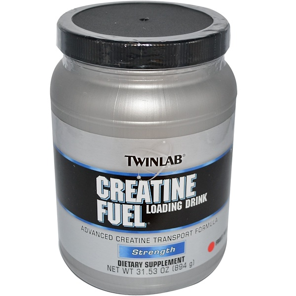 Twinlab, Creatine Fuel, Loading Drink, Fruit Punch, 31.53 oz (894 g) (Discontinued Item)
