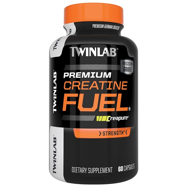 Twinlab, Creatine Fuel, 60 капсул (Discontinued Item)