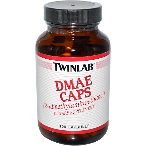 Twinlab, DMAE キャップス, 100 カプセル