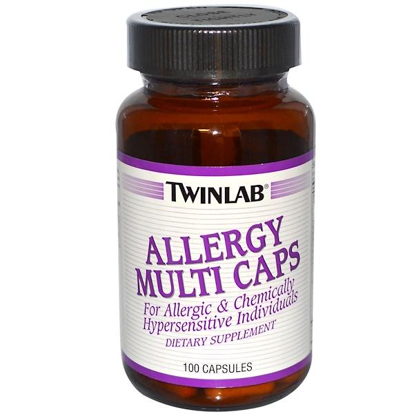 Twinlab, Allergy Multi Caps, 100 Capsules (Discontinued Item)