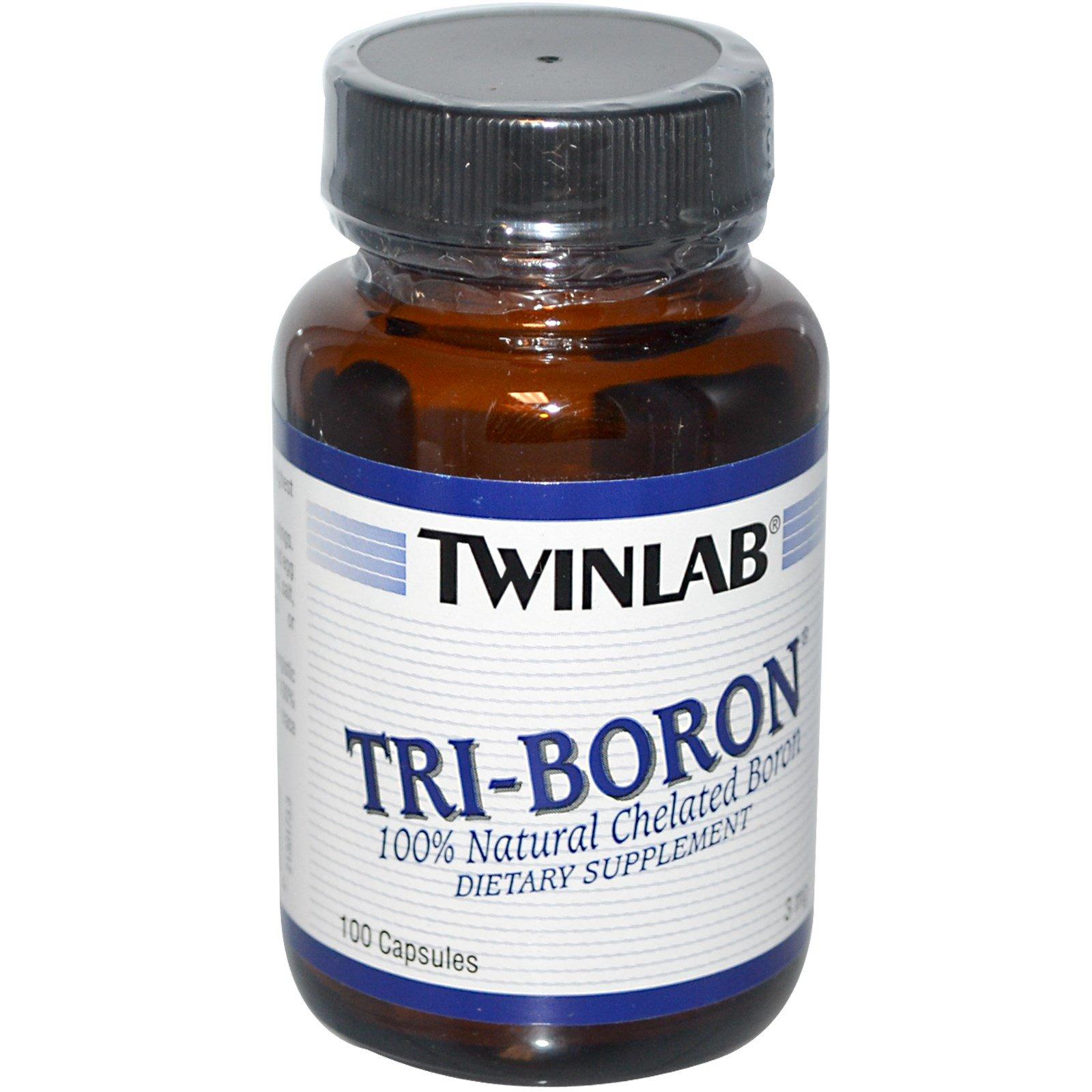 Twinlab, Тройной бор, 3 мг, 100 капсул