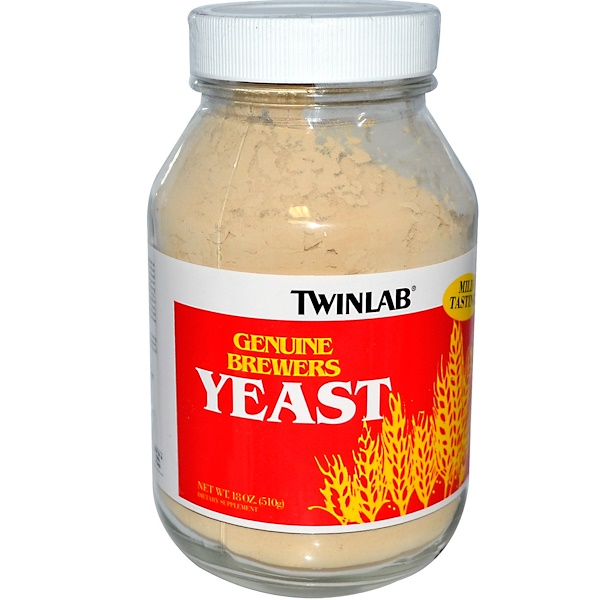 Twinlab, Genuine Brewer's Yeast, 18 oz (510 g) (Discontinued Item)