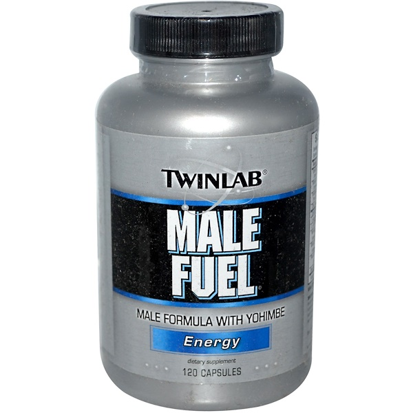 Twinlab, Male Fuel, Energy, 120 Capsules  (Discontinued Item)