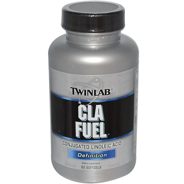Twinlab, CLA Fuel, Conjugated Linoleic Acid, Definition, 60 Softgels (Discontinued Item)