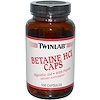 Twinlab, Betaine HCL Caps, 100 Capsules
