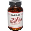 Twinlab, Yeast Fighters, 75 Capsules (Discontinued Item)