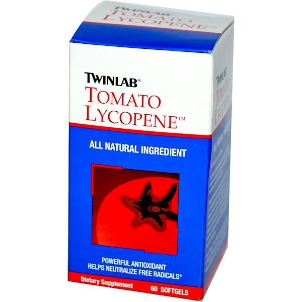 Twinlab, Tomato Lycopene, 60 Softgels (Discontinued Item)