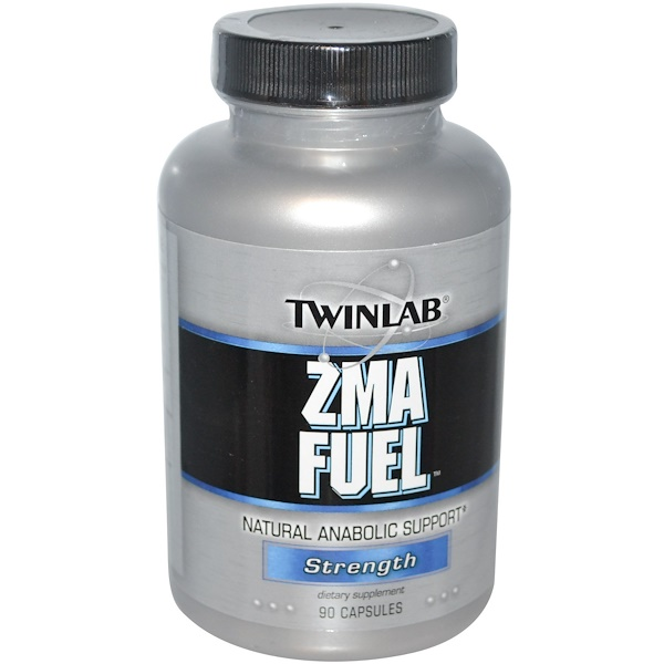 Twinlab, ZMA Fuel, Strength, 90 Capsules (Discontinued Item)